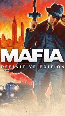 Mafia: Definitive Edition, Mafia: Trilogy, artwork, 5K (vertical)