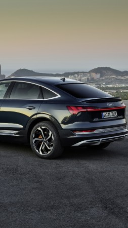 Audi e-tron Sportback, 2020 Cars, SUV, electric cars, 4K (vertical)