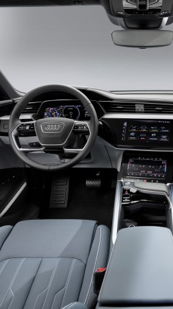 Audi e-tron Sportback, 2020 Cars, SUV, electric cars, 8K (vertical)