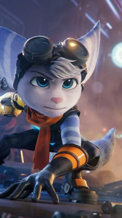 Ratchet & Clank: Rift Apart, gameplay, PlayStation 5, PS5 (vertical)