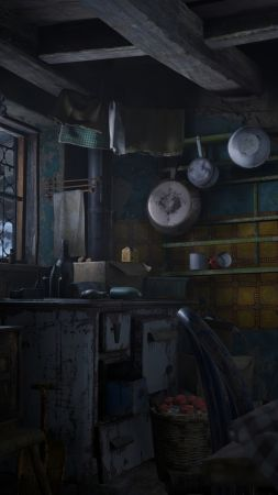 Resident Evil Village, screenshot, 4K, PlayStation 5, PS5 (vertical)