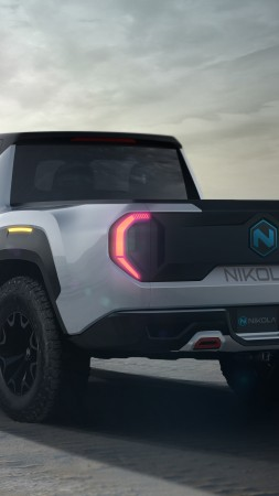 Nikola Badger, SUV, 2021 cars, electric cars, 5K (vertical)