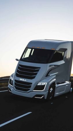 Nikola Two, electric cars, hydrogen fuel cell (vertical)