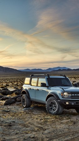 Ford Bronco, SUV, 2021 cars, 8K (vertical)