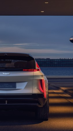 Cadillac Lyriq, SUV, 2021 cars, electric cars, 8K (vertical)