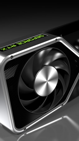 Nvidia GeForce RTX 3080 Ti, graphics card, 8K (vertical)