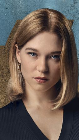 No Time to Die, Lea Seydoux, 4K (vertical)