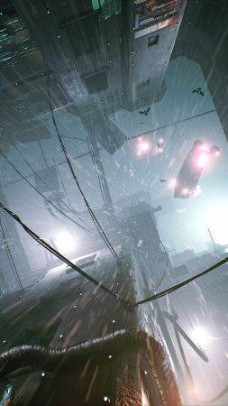 Observer: System Redux, Gamescom 2020, screenshot, 4K (vertical)