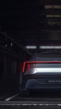 Polestar Precept, electric cars, 4K (vertical)