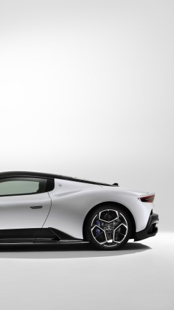 Maserati MC20, 2020 cars, luxury cars, 8K (vertical)