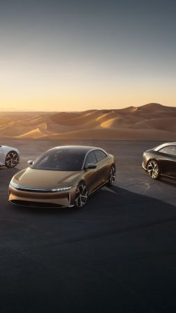 Lucid Air, 2021 cars, luxury cars, electric cars, 5K (vertical)