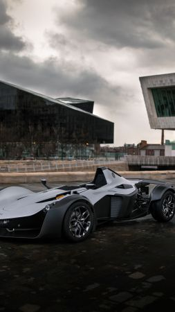 BAC Mono, supercar, 2020 cars, 4K (vertical)