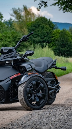 Can-Am Spyder F3-S, 2020 bikes, 5K (vertical)