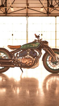 Royal Enfield KX, 2020 bikes, 4K (vertical)