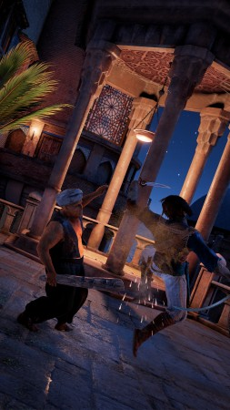 Prince of Persia: The Sands of Time Remake, screenshot, 4K (vertical)