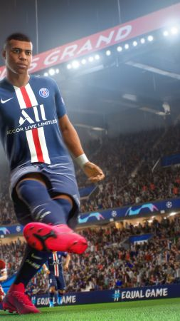 FIFA 21, screenshot, 4K (vertical)