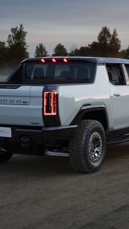 GMC Hummer EV, SUV, electric cars, 5K (vertical)