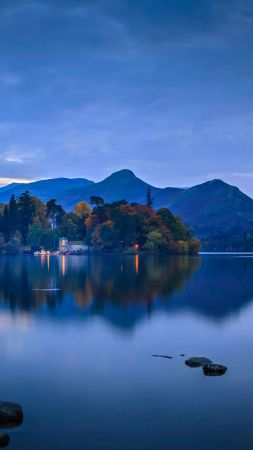 Lake District National Park, Cumbria, England, Bing, Microsoft, 5K (vertical)