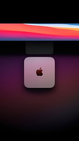 Mac Mini with Apple M1 chip, Apple November 2020 Event, 4K (vertical)