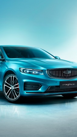 Geely Preface, Guangzhou Motor Show, 2020 cars, 5K (vertical)