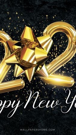 New Year 2021, Christmas, poster, 8k (vertical)