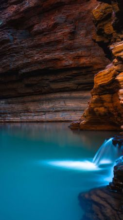 Kermits Pool, Karijini National Park, Australia (vertical)