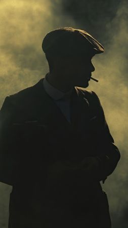 Peaky Blinders, Thomas Shelby, TV Series, 4K (vertical)