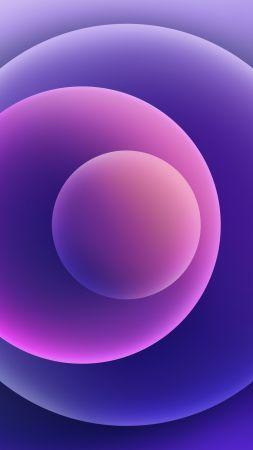 iPhone 12, purple, abstract, Apple April 2021 Event, 4K (vertical)