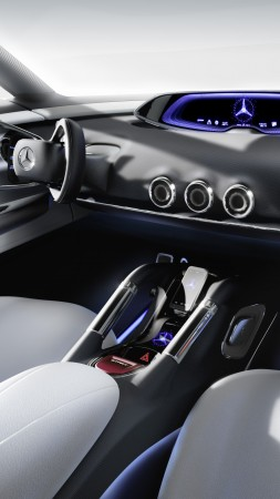 Mercedes-Benz Vision G-Code, hybrid, Mercedes, hydrogen, interior, SUV, supercar, luxury cars, concept, ecosafe