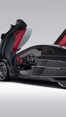 McLaren X-1, supercar, McLaren, concept, luxury cars, sports car, limited edition, speed, doors (vertical)
