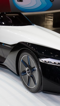 Nissan Bladeglider, electric cars, concept, Nissan, ecosafe, front, review