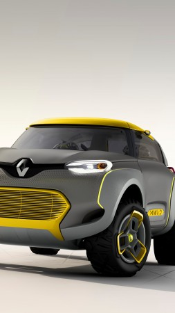 Renault KWID, concept, Renault, crossover, CUV, review, test drive, front (vertical)
