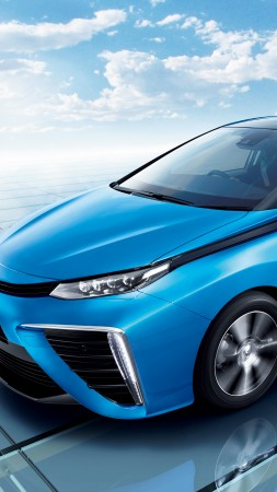 Toyota Mirai, hydrogen, Toyota, electric cars, side, ecosafe, concept, review, test drive, Best Electric Cars 2015, 2015 Detroit Auto Show. NAIAS