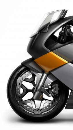 Vectrix, concept, electric motorcycle, superbike, ecosafe, review, side, test drive (vertical)