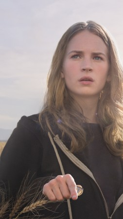 Tomorrowland, 2015, movie, film, fairy tale, mistery, George Clooneyy Frank Walker, Britt Robertson, Casey Newton (vertical)