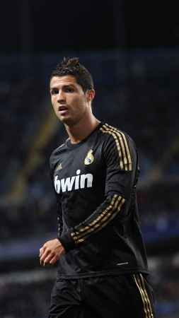 Football, Cristiano Ronaldo, soccer, FIFA, The best players 2015, Real Madrid, Forward, footballer, Cristiano Ronaldo dos Santos Aveiro (vertical)