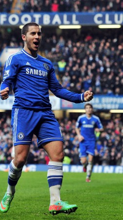 Football, Eden Hazard, soccer, FIFA, The best players 2015, Chelsea, Attacking midfielder, Winger, footballer (vertical)