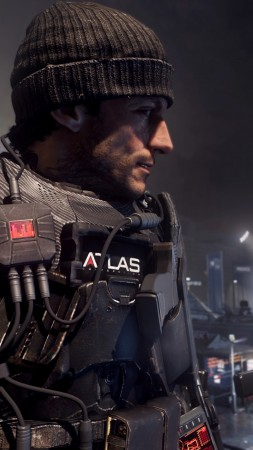 Call of Duty Advanced Warfare, game, shooter, soldier, exoskeleton, ATLAS, CoD, AW, screenshot (vertical)