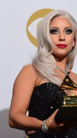 Lady Gaga, Most Popular Celebs in 2015, Grammys 2015 Best Celebrity, Tony Bennett, Best Traditional Pop Vocal Album, Cheek to Cheek (vertical)
