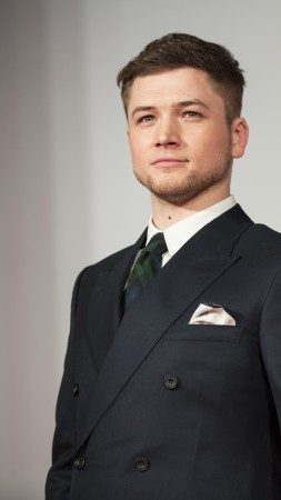 Taron Egerton, Most Popular Celebs in 2015, actor, Legend, Kingsman (vertical)