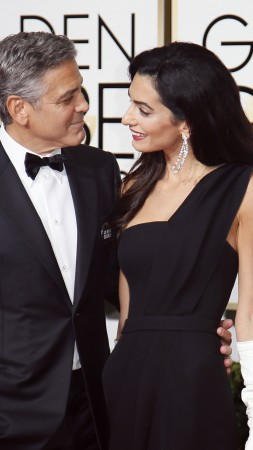 George Clooney, Amal Alamuddin, Most Popular Celebs in 2015, actor, writer, producer