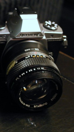 Olympus OM-D E-M5 MkII, photo camera, black, review, OMD EM5 MK 2 (vertical)