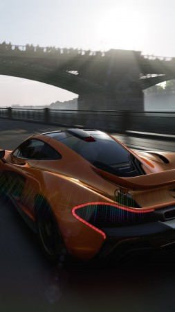 Forza Motorsport 6, 5k, 4k wallpaper, E3 2015, release, gameplay, review, xBox One, sports car, McLaren, interface (vertical)
