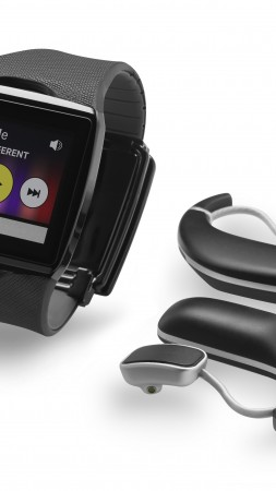 Qualcomm Toq Smartwatches, watches, review, unboxing, interface, Android, display (vertical)