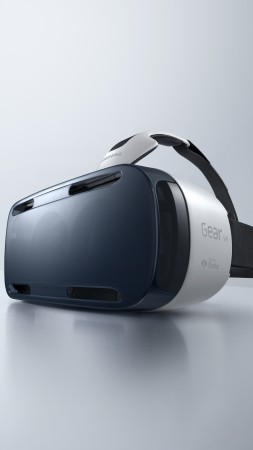 Samsung Gear VR, Hi-Tech News of 2015, review, VR headset, unboxing, virtual reality (vertical)