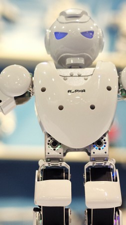 UBtech Alpha, CES 2015, Hi-Tech News of 2015, humanoid, review, intelligent, robot, Best Robots of 2015