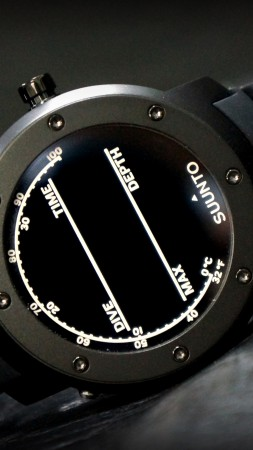 Suunto Elementum, watches, review, Terra, unboxing, display, interface, front, side (vertical)
