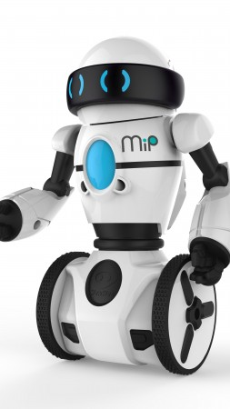 WowWee MiP, Best Robots of 2015, review, unboxing, personal robot, robot, white (vertical)