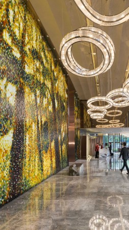 Mandarin Oriental Pudong, Shanghai, Best Hotels of 2015, tourism, travel, vacation, resort