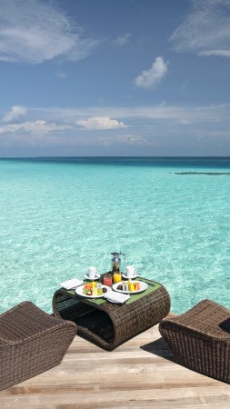 Constance Moofushi, Maldives, Best Hotels of 2017, tourism, travel. resort, vacation, sea, ocean, water (vertical)